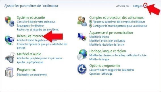 activer desactiver le partage du dossier public de windows 7 2
