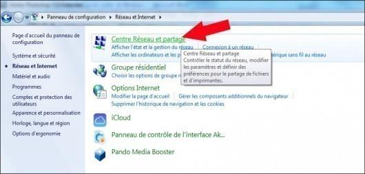 activer desactiver le partage du dossier public de windows 7 3