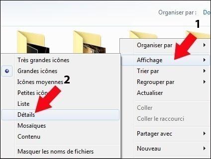 afficher la taille des images sous windows 7 1