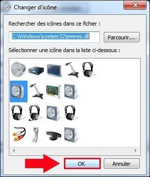 apparence des peripheriques audio windows 7 6