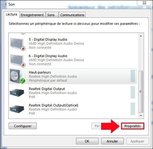apparence des peripheriques audio windows 7 4