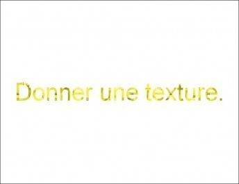 Appliquer une texture à un texte avec photofiltre