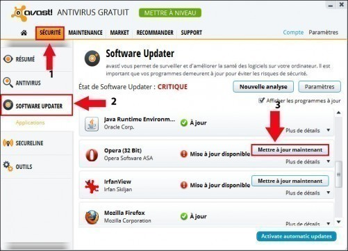 avast software updater 1