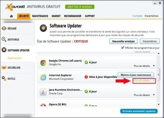 avast software updater 3