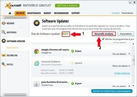 avast software updater 5