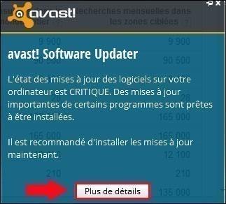 avast software updater 0