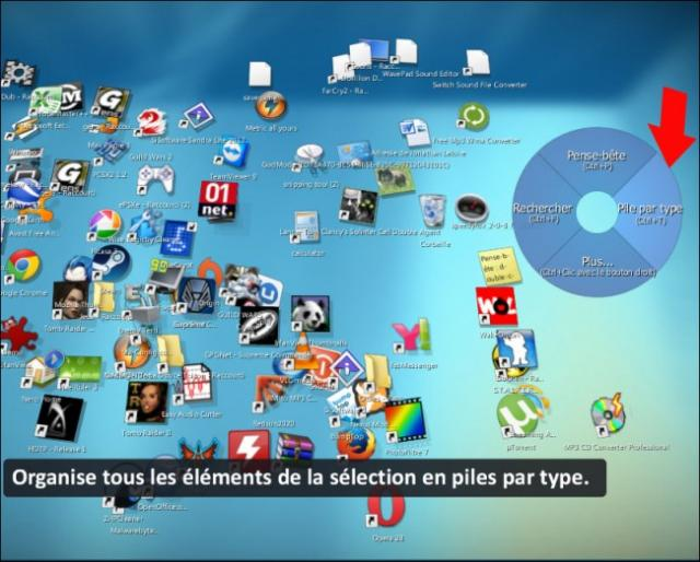 bureau en 3d sous windows 7 2
