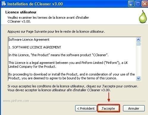 ccleaner telechargement installation presentation 7