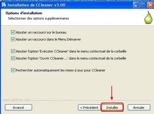 ccleaner telechargement installation presentation 8