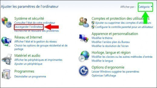 cd reparation windows 7 1