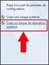 cd reparation windows 7 2