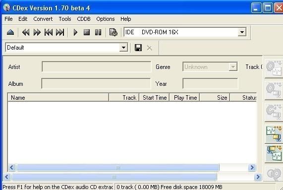 CDex téléchargement et installation