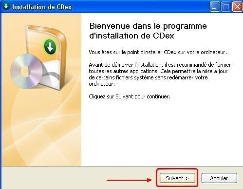 cdex telechargement et installation 6