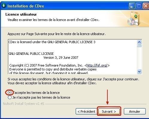 cdex telechargement et installation 7