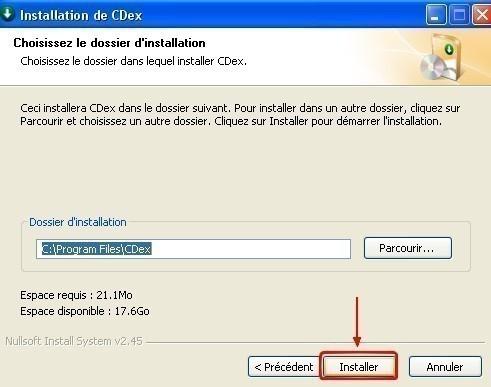 cdex telechargement et installation 10