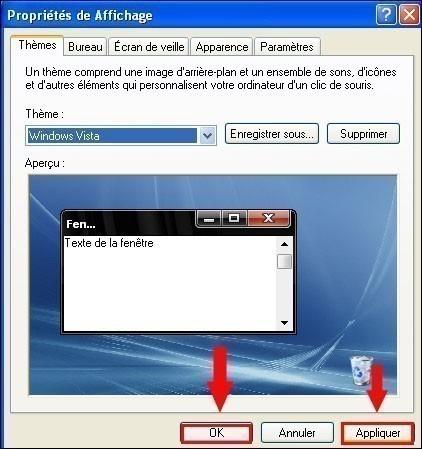 changer de theme sur windows xp 2
