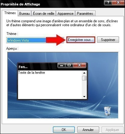 changer de theme sur windows xp 3