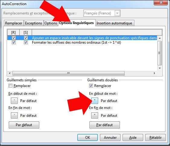 Changer les guillemets dans open office astuces pratiques - Comment faire un organigramme sur open office ...