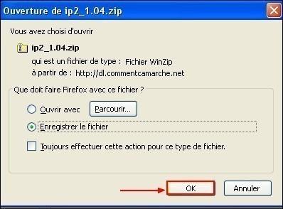 Chercher l'adresse IP de son pc avec IP2