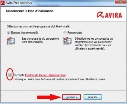comment changer d antivirus 7