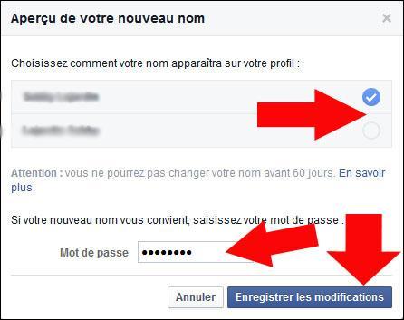 comment changer de nom sur facebook 4