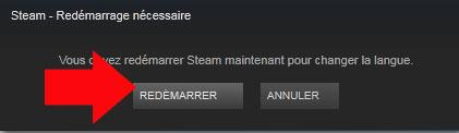 comment changer la langue de steam 3