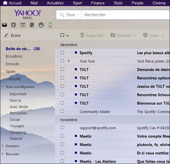 comment changer le theme de fond de yahoo mail 3