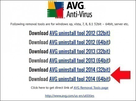 comment desinstaller avg 1