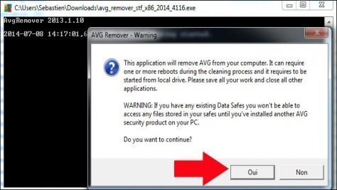 comment desinstaller avg 4