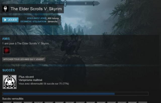 Enlever le pointeur de la souris dans Skyrim