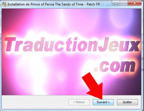 comment mettre prince of persia les sables du temps en francais 4