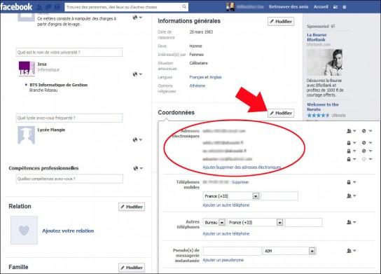 comment retrouver son adresse email facebook 3