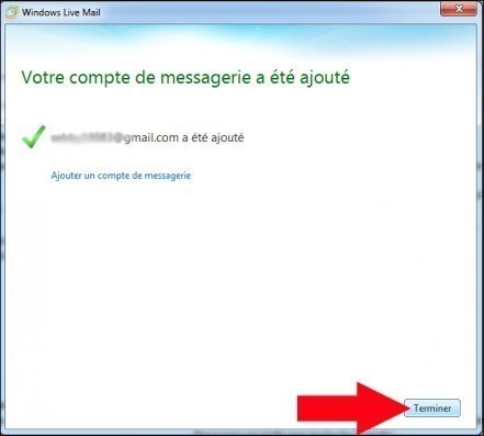 configurer gmail avec windows live mail 8