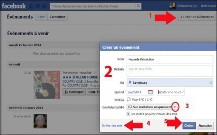 creer un evenement sur facebook 2