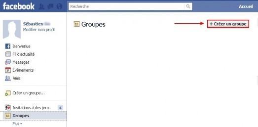 creer un groupe sur facebook 1