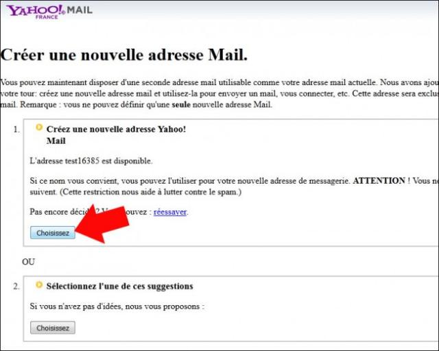 creer une adresse email secondaire sur yahoo mail 4