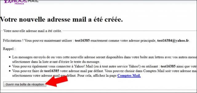creer une adresse email secondaire sur yahoo mail 6