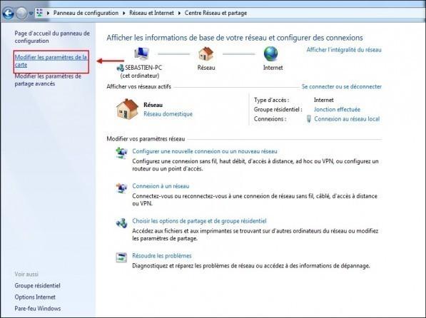 creer une ip fixe sur windows 7 2