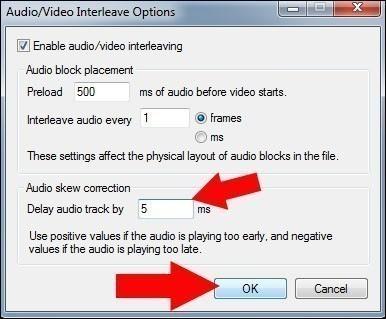 decalage du son et de l image d un fichier video divx 11