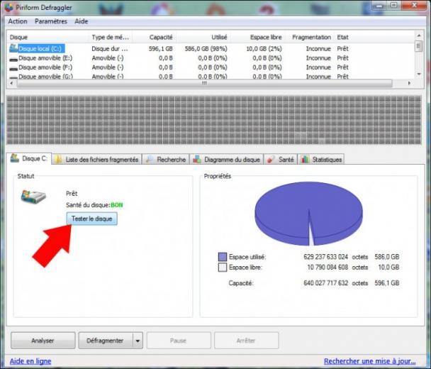 defragmenter le disque dur 2
