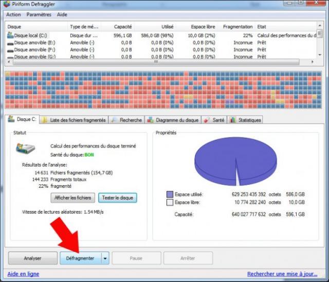 defragmenter le disque dur 3