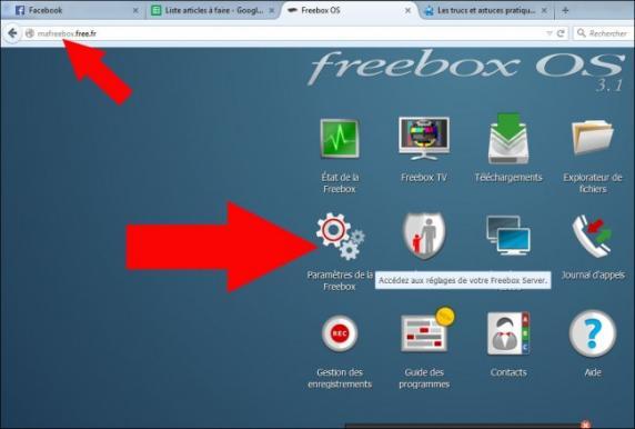 desactiver le wifi sur la freebox revolution 1