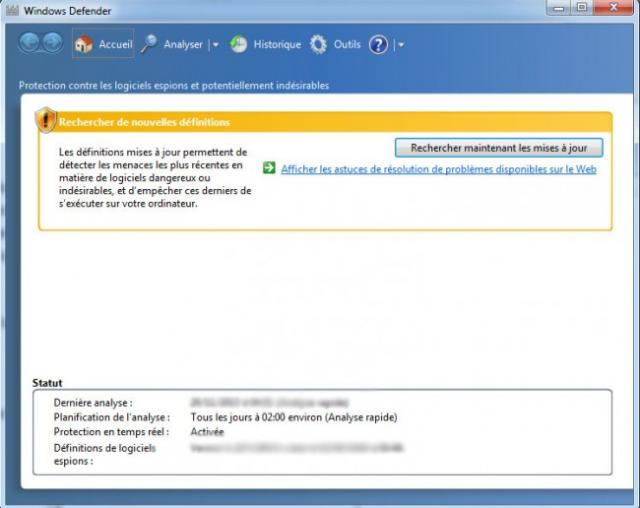 desactiver windows defender sous w10 0