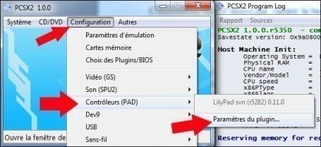 emulateur playstation 2 pcsx2 configuration 7