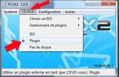 emulateur playstation 2 pcsx2 configuration 1