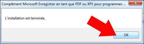 enregistrement pdf sur excel 2007 2010 2