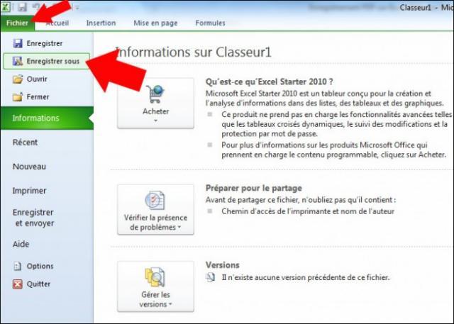enregistrement pdf sur excel 2007 2010 3