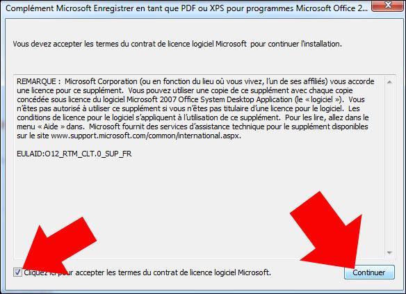 enregistrement pdf sur excel 2007 2010 1