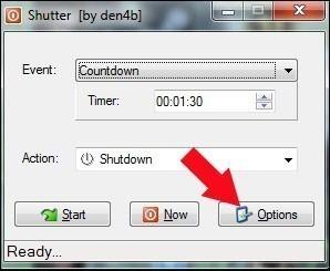 eteindre automatiquement son pc avec shutter 1
