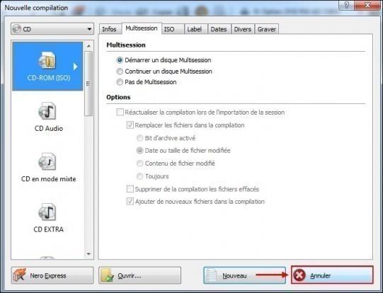 extraire des mp3 a partir d un cd audio avec nero 0